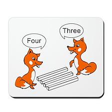 Optical illusion Trick Mousepad