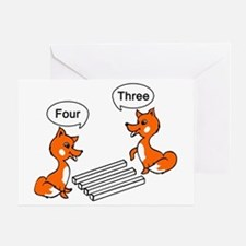 Optical illusion Trick Greeting Card
