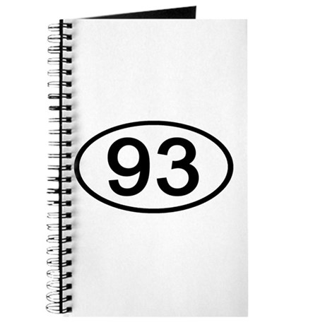 Number 93 Oval Journal