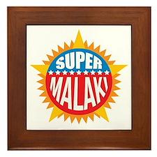 Super Malaki Framed Tile