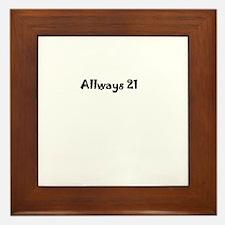 Forever 21 Framed Tile