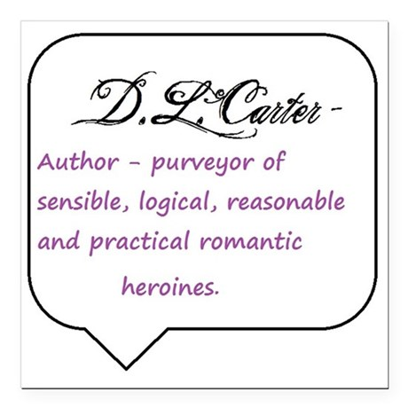 "definition of author Square Car Magnet 3"" x 3"""