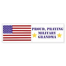 Military Grandma Bumper Sticker