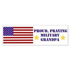 Military Grandpa Bumper Sticker