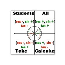 All Students Take Calculus Sticker