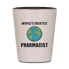 Worlds Greatest Pharmacist Shot Glass