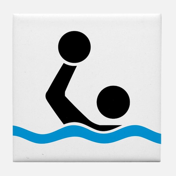 waterpolo Tile Coaster