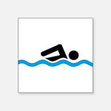 swimming Sticker