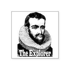Henry Hudson the Explorer Sticker