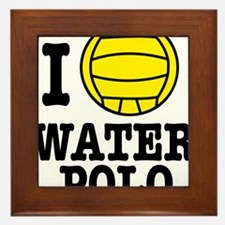 waterpolo Framed Tile