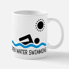 open water swimming Mug