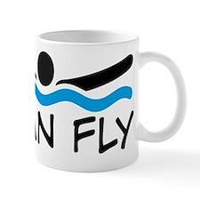 butterfly swimming Mug