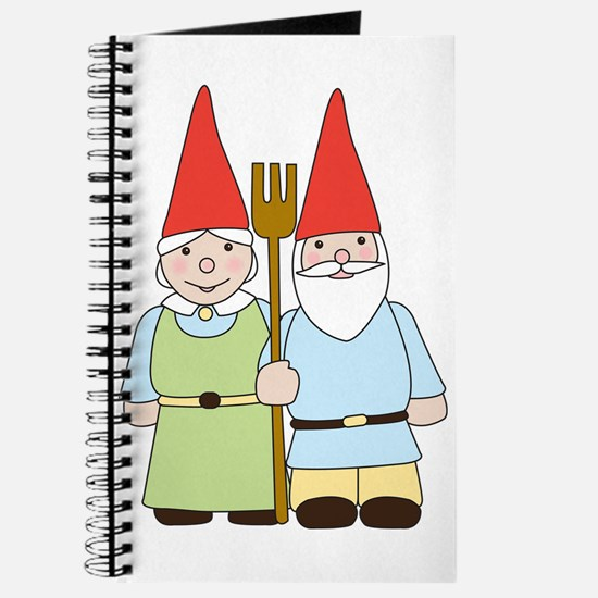 Gnome Couple Journal