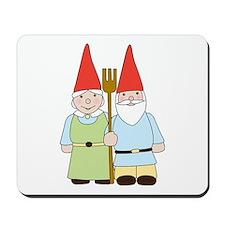 Gnome Couple Mousepad