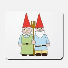 Gnome Couple Mousepad
