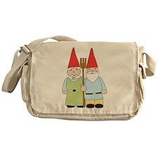 Gnome Couple Messenger Bag