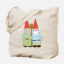 Gnome Couple Tote Bag