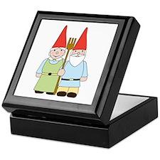 Gnome Couple Keepsake Box