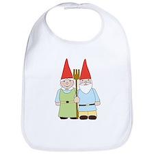 Gnome Couple Bib
