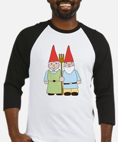 Gnome Couple Baseball Jersey