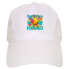 Tropical I'd Rather be in Hawaii Baseball Baseball Cap