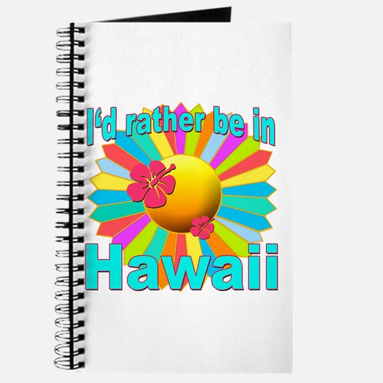 Tropical I'd Rather be in Hawaii Journal