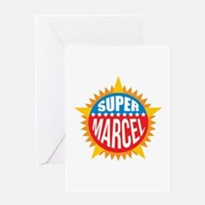 Super Marcel Greeting Card