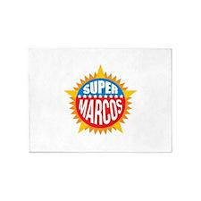 Super Marcos 5'x7'Area Rug