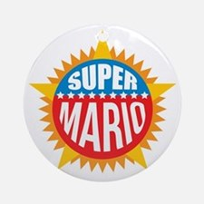 Super Mario Ornament (Round)