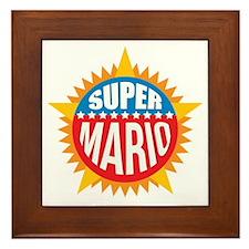 Super Mario Framed Tile