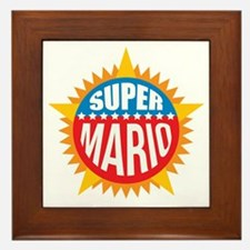 Super Mario Framed Tile