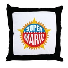 Super Mario Throw Pillow