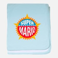 Super Mario baby blanket