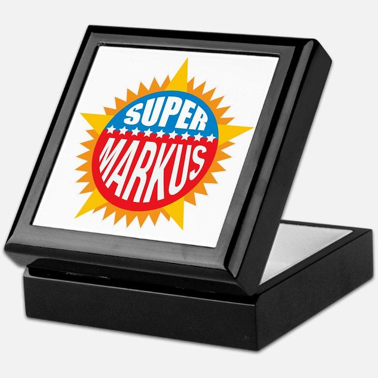 Super Markus Keepsake Box