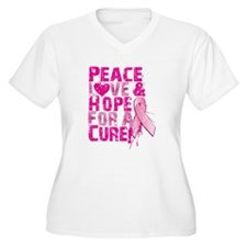 hopeforacure09 Plus Size T-Shirt