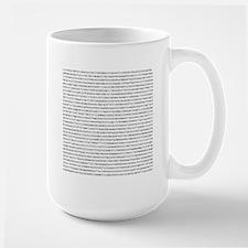 Pi 2000 Digits Mug