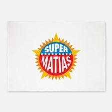 Super Matias 5'x7'Area Rug