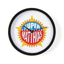 Super Matthias Wall Clock