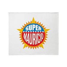 Super Mauricio Throw Blanket