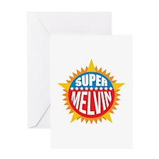 Super Melvin Greeting Card