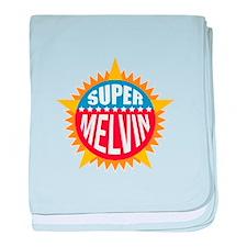 Super Melvin baby blanket