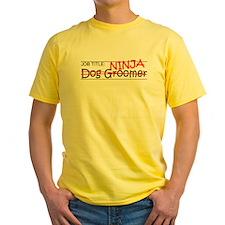 Job Ninja Dog Groomer T