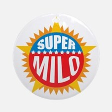 Super Milo Ornament (Round)