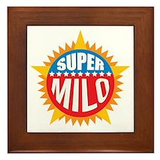 Super Milo Framed Tile