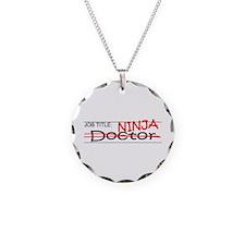 Job Ninja Doctor Necklace Circle Charm