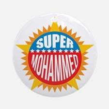 Super Mohammed Ornament (Round)