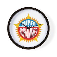 Super Mohammed Wall Clock
