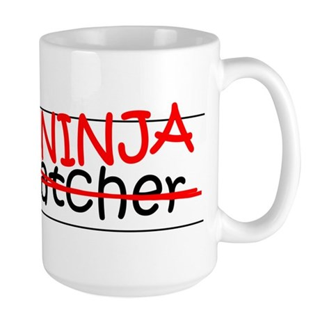 Job Ninja Dispatcher Large Mug