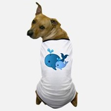 Baby Whale Dog T-Shirt