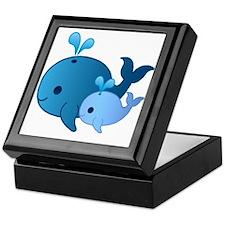 Baby Whale Keepsake Box
